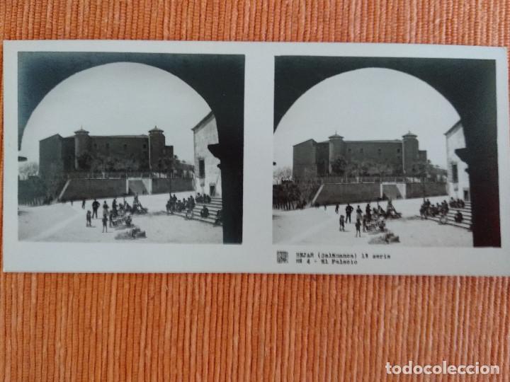 Fotografía antigua: 15 VISTAS ESTEREOSCÓPICAS BÉJAR SALAMANCA, 1ª SERIE. Colección nº151 - Foto 5 - 210594221