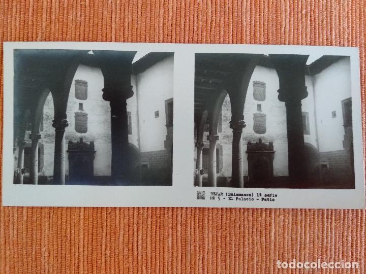 Fotografía antigua: 15 VISTAS ESTEREOSCÓPICAS BÉJAR SALAMANCA, 1ª SERIE. Colección nº151 - Foto 6 - 210594221