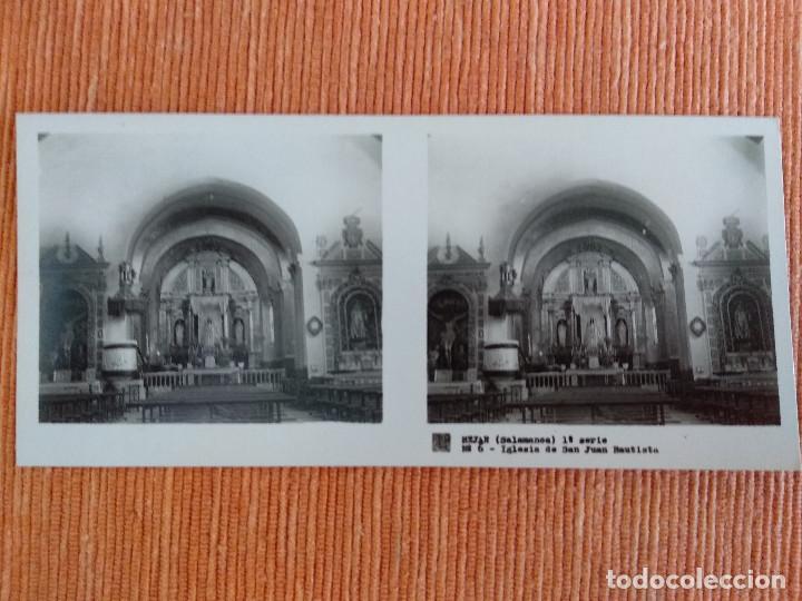 Fotografía antigua: 15 VISTAS ESTEREOSCÓPICAS BÉJAR SALAMANCA, 1ª SERIE. Colección nº151 - Foto 7 - 210594221