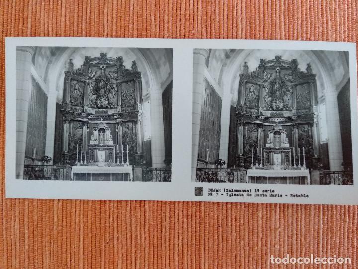 Fotografía antigua: 15 VISTAS ESTEREOSCÓPICAS BÉJAR SALAMANCA, 1ª SERIE. Colección nº151 - Foto 8 - 210594221