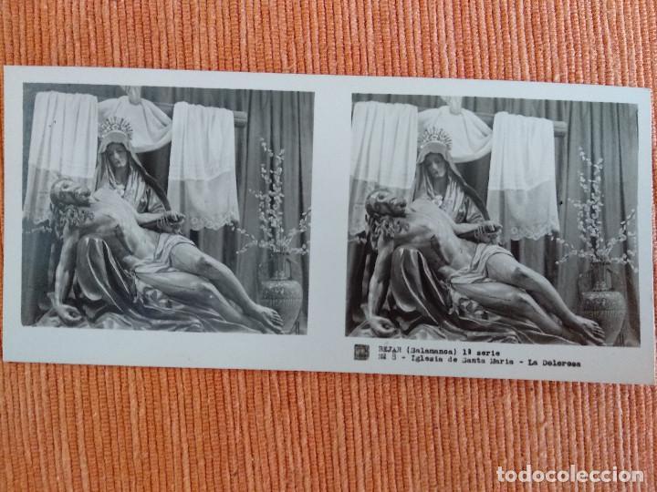 Fotografía antigua: 15 VISTAS ESTEREOSCÓPICAS BÉJAR SALAMANCA, 1ª SERIE. Colección nº151 - Foto 9 - 210594221