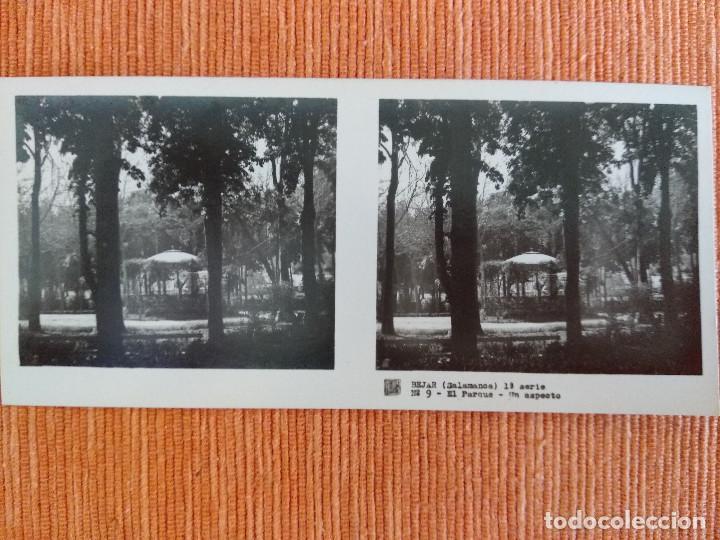 Fotografía antigua: 15 VISTAS ESTEREOSCÓPICAS BÉJAR SALAMANCA, 1ª SERIE. Colección nº151 - Foto 10 - 210594221