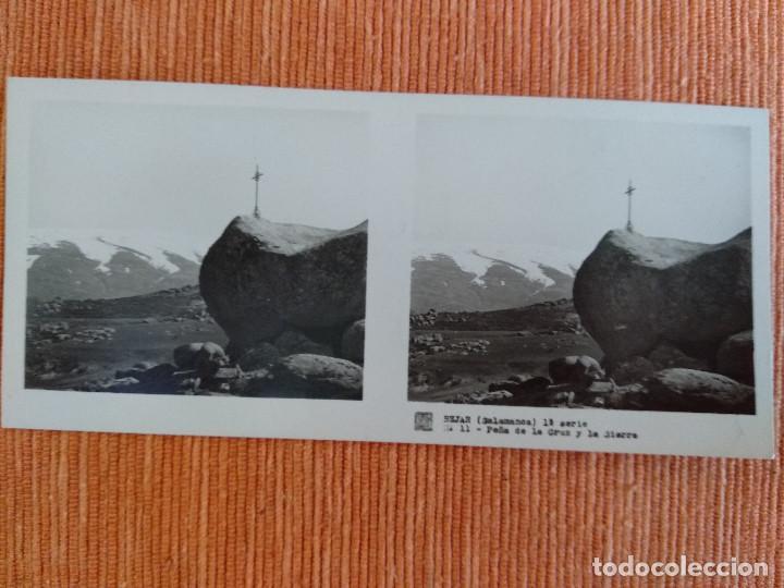 Fotografía antigua: 15 VISTAS ESTEREOSCÓPICAS BÉJAR SALAMANCA, 1ª SERIE. Colección nº151 - Foto 12 - 210594221