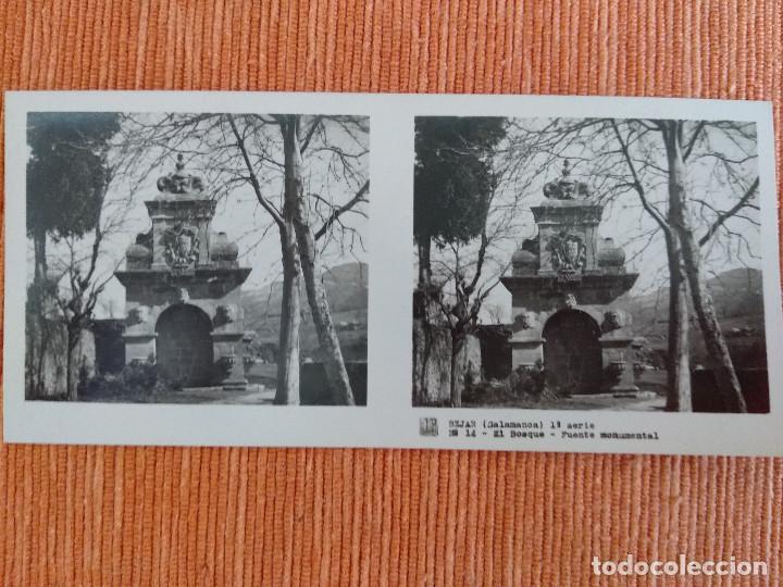 Fotografía antigua: 15 VISTAS ESTEREOSCÓPICAS BÉJAR SALAMANCA, 1ª SERIE. Colección nº151 - Foto 15 - 210594221