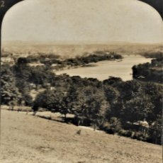 Fotografía antigua: 12859 THE CONNECTICUT RIVER AND HOLYOKE, MASS 1909 - H. C. WHITE CO.. Lote 211386557