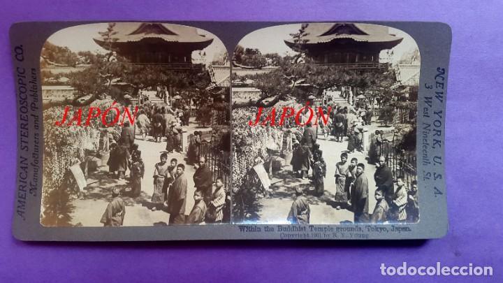 JAPÓN - 1900 (Fotografía Antigua - Estereoscópicas)