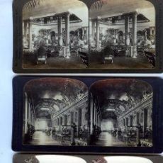 Fotografía antigua: TREINTA Y CINCO FOTOGRAFIAS ESTEREOSCOPICAS DE PAISES DE EUROPA DIFERENTES-VER FOTOS ADICIONALES .. Lote 212474717