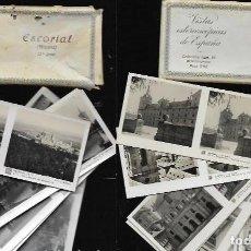 Fotografía antigua: VISTAS ESTEREOSCÓPICAS * ESCORIAL * SERIE 1 ª + SERIE 2ª -. Lote 213477848