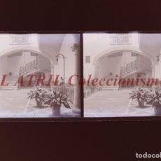 Fotografía antigua: PALMA DE MALLORCA - VISTA ESTEREOSCOPICA CRISTAL NEGATIVO - AÑOS 1930-40. Lote 213610630