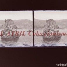 Fotografía antigua: PALMA DE MALLORCA - VISTA ESTEREOSCOPICA CRISTAL NEGATIVO - AÑOS 1930-40. Lote 213611198