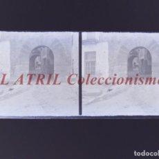 Fotografía antigua: PALMA DE MALLORCA - VISTA ESTEREOSCOPICA CRISTAL NEGATIVO - AÑOS 1930-40. Lote 213612318