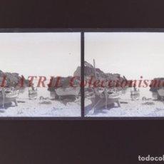 Fotografía antigua: PALMA DE MALLORCA - VISTA ESTEREOSCOPICA CRISTAL NEGATIVO - AÑOS 1930-40. Lote 213613028