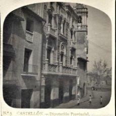 Fotografía antigua: ESTEREOSCÓPICA CASTELLÓN, DIPUTACIÓN PROVINCIAL. Lote 214098811
