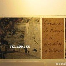Fotografía antigua: VISTA DE GRAVAN (MENTON). ADUANA. ESTEREO VIDRIO POSITIVO. 4,5 X 10,5 CM. Lote 215191275