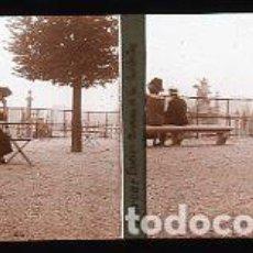 Fotografia antiga: FOTOGRAFIA CRISTAL ESTEREOSCOPICA PARIS, TERRAZA TULLERIAS, FOTOGRAFO PORCAR LIRIA. PRINCIPIO 1900. Lote 216699067