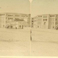 Fotografía antigua: ALICANTE PLAZA DE TOROS. HACIA 1885.. Lote 217595743