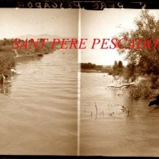 Fotografía antigua: SANT PERE PESCADOR - 1920'S - NEGATIU DE VIDRE. Lote 218427356