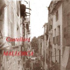 Fotografía antigua: CASTELLERS - MALLORCA - 1920'S - NEGATIU DE VIDRE. Lote 218695601