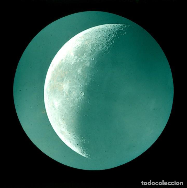 Fotografía antigua: ASTRONOMIA - ASTRONOMY - LINTERNA MAGICA - CAJA CON 50 CRISTALES - SLIDES - 1900 - 1920 - Foto 7 - 218798628