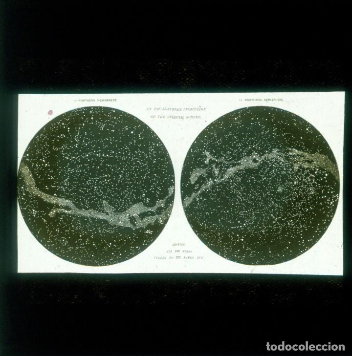 Fotografía antigua: ASTRONOMIA - ASTRONOMY - LINTERNA MAGICA - CAJA CON 50 CRISTALES - SLIDES - 1900 - 1920 - Foto 12 - 218798628