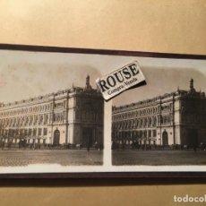 Fotografía antigua: MADRID - ANTIGUA FOTOGRAFIA ESTEREOSCOPICA - EL BANCO DE ESPAÑA - E.G.A.. Lote 219311671