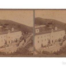 Fotografía antigua: BARCELONA.- TIBIDABO. MANICOMIO DE LA NUEVA BELÉN.. Lote 219500258