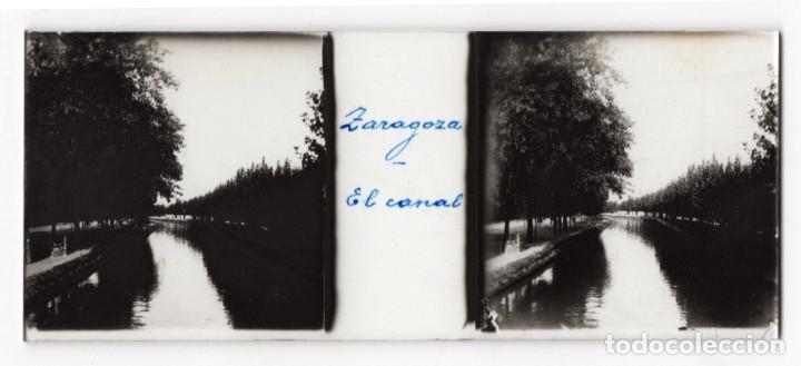 Fotografía antigua: ZARAGOZA.- MONASTERIOR DE PIEDRA. VISTAS. AGUSTINA DE ARAGÓN. EL CANAL IMPERIAL. 14 CRISTALES. - Foto 5 - 219705918