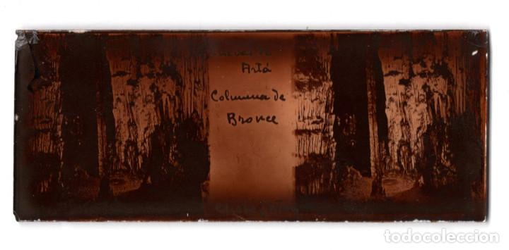 Fotografía antigua: MALLORCA.- CUEVAS DEL DRACH. 12 CRISTALES. - Foto 3 - 219710111