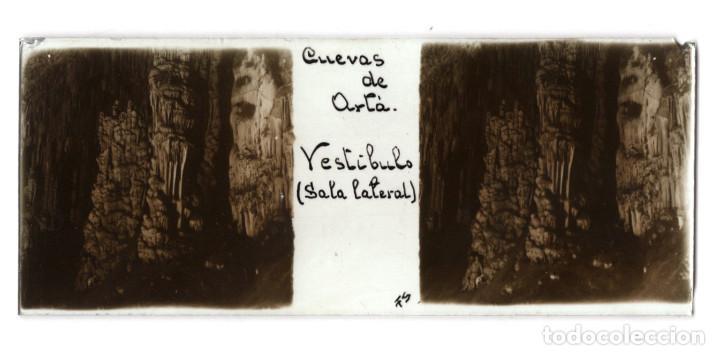 Fotografía antigua: MALLORCA.- CUEVAS DEL DRACH. 12 CRISTALES. - Foto 4 - 219710111