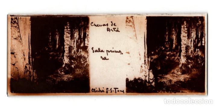 Fotografía antigua: MALLORCA.- CUEVAS DEL DRACH. 12 CRISTALES. - Foto 9 - 219710111