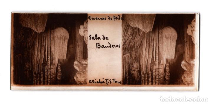 Fotografía antigua: MALLORCA.- CUEVAS DEL DRACH. 12 CRISTALES. - Foto 12 - 219710111