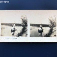 Fotografía antigua: FEVR 30 - FOTOGRAFÍA ESTEREOSCÓPICA DE CASTELLÓN VISTAS ESTEREOSCÓPICAS DE ESPAÑA Nº11. Lote 220931328