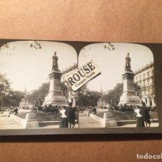 Fotografía antigua: CANADA - ANTIGUA FOTOGRAFIA ESTEREOSCOPICA - 1901VICTORIA SQUARE CANADA. Lote 221887716