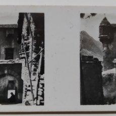 Fotografía antigua: ANTIGUA FOTOS ESTEREOSCÓPICAS DE LAS GALLETAS Y CHOCOLATES SOLSONA.ANDORRA SERIE I !N 301. Lote 222401417