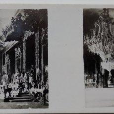 Fotografía antigua: ANTIGUA FOTOS ESTEREOSCÓPICAS DE LAS GALLETAS Y CHOCOLATES SOLSONA.MADRID SERIE I N 2. Lote 222401460