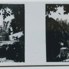 Fotografía antigua: ANTIGUA FOTOS ESTEREOSCÓPICAS DE LAS GALLETAS Y CHOCOLATES SOLSONA.MONTSERRAT SERIE I N 13. Lote 222401822
