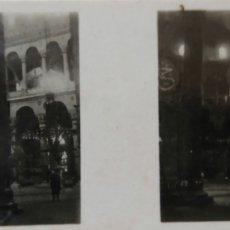 Fotografía antigua: ANTIGUA FOTOS ESTEREOSCÓPICAS DE LAS GALLETAS Y CHOCOLATES SOLSONA SERIE I N 262. Lote 222402231