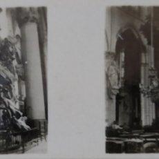 Fotografía antigua: ANTIGUA FOTOS ESTEREOSCÓPICAS DE LAS GALLETAS Y CHOCOLATES SOLSONA.BELGICA SERIE I N 53. Lote 222402415