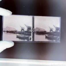 Fotografía antigua: PLACA ESTEREOSCÓPICA CRISTAL EN NEGATIVO ALICANTE 1930.. Lote 222914328