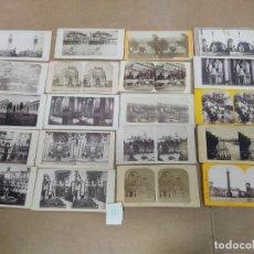 Fotografía antigua: LOTE DE 20 FOTOGRAFÍAS ESTEREOSCÓPICAS PAISAJES Y MONUMENTOS EUROPEOS SIGLO XIX LOTE Nº 12 VER FOTOS. Lote 224961456