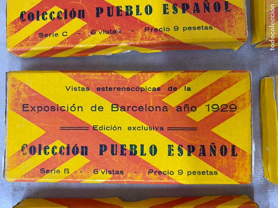 Fotografía antigua: Coleccion completa 72 vistas stereoscopicas pueblo español - Foto 3 - 226126280