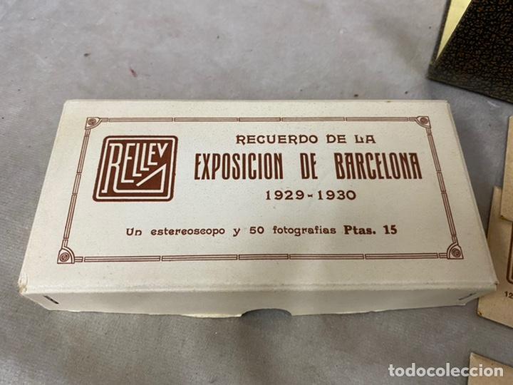 Fotografía antigua: Coleccion vistas estereoscopicas exposicion de barcelona 13x6 - Foto 3 - 226126751