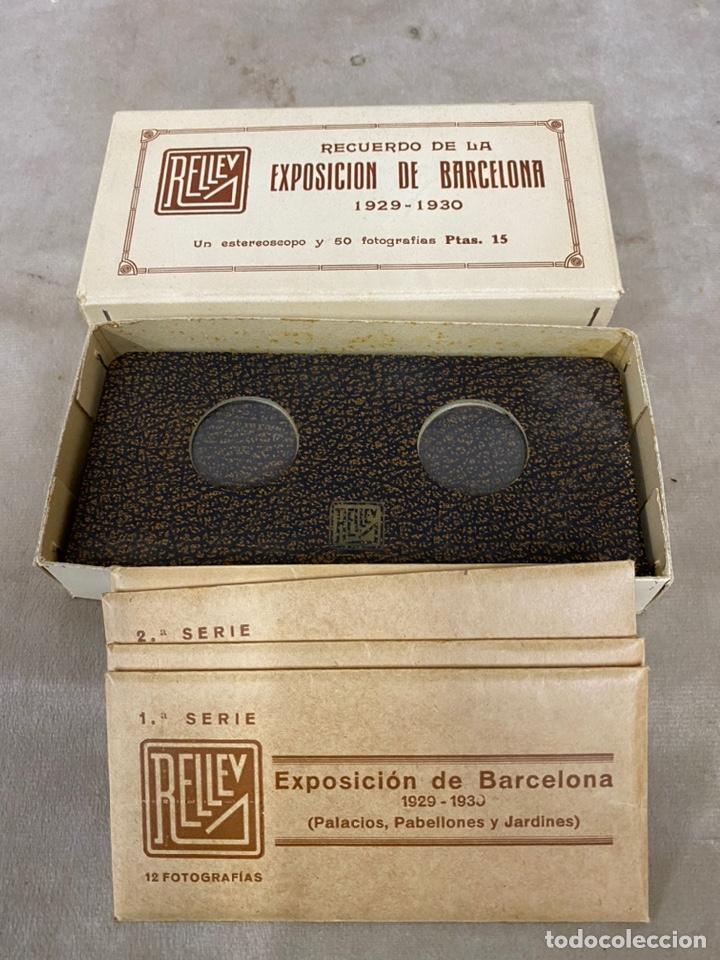 Fotografía antigua: Coleccion vistas estereoscopicas exposicion de barcelona 13x6 - Foto 6 - 226126751