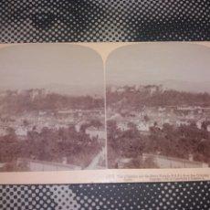Fotografía antigua: VISTA STEREOSCOPICA UNDERWOOD GRANADA SIERRA NEVADA Nº 27 EDCION 1902 PERFECTO ESTADO. Lote 226627310
