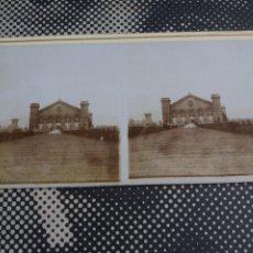 Fotografía antigua: VISTA ESTEREOSCOPICA BARCELONA EXPOSICION UNIVERSAL 1888 S.XIX. Lote 226768625