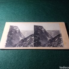 Fotografía antigua: CALIFORNIA. VIEW FROM TOP OF VERNAL FALL-LOOKING WEST. Lote 229395615