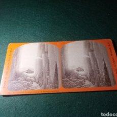 Fotografía antigua: ICE CHAMBERS, THROUGH WINDOWS OF PORTAGE AQUEDUCT. Lote 229398920