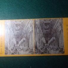 Fotografía antigua: PARÍS. FOYER PUBLIC DU NOUVEL OPERA. Lote 229578550
