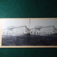 Fotografía antigua: THE TREASURY BUILDING FROM PENN. AVENUE. Lote 230242770