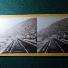 Fotografía antigua: PENNSYLVANIA RAIL ROAD VIEWS. Lote 230267990